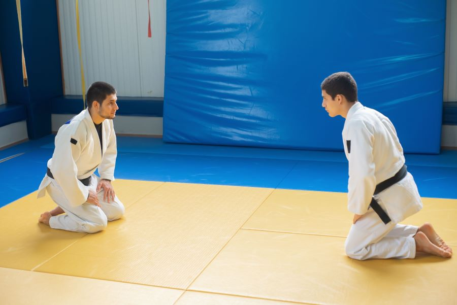 Karate preparation for sparring